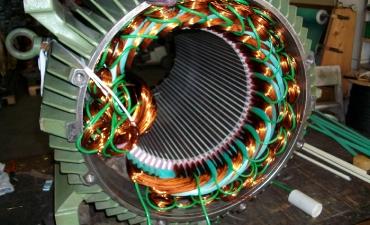 Neuwicklung des Generators 1