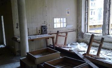 Abriss des alten Elma Werkes