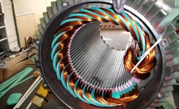 Neuwicklung des Generators 2
